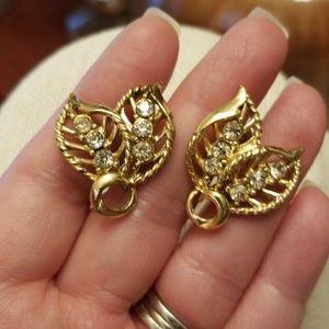 Vtg. Coro Earrings